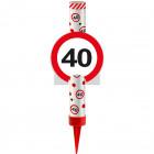 Kategoria F1 Fountain Ice Traffic Sign 40