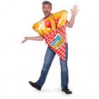 Costume Hab Bag Fries Méret STD