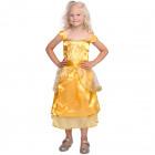 Princess Dress Gold Size S