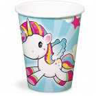Unicorn Cups 250ml - 8 pieces
