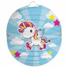 Lampion Unicorn 22cm