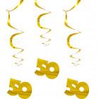 Spiral Hangdecoration 50 Gold