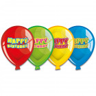 Happy Birthday Balloon plate - 6 pieces