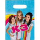 K3 Party Cut-out bags - 8 pieces