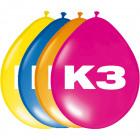 K3 Party Balloons - 8 pieces