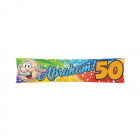 Abraham Rainbow 180x14 street banner