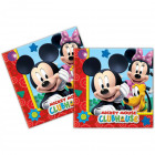 Mickey Mouse Clubhouse Napkins - 20 pieces