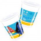 Disney Finding Dory Cups - 8 pieces