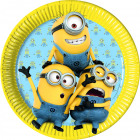 Minions plate - 8 pieces