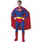 Classic Superman Luxury Costume - Adults S