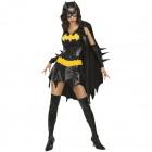 Sexy Batgirl Costume 5piece - Ladies M