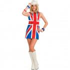 60s English Flag Dress