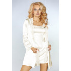 Koszulka nocna Jacqueline Ecru LC 90249 rozmiar -
