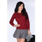 Talla suéter Sadila Maroon - S
