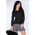 Sweter Sadila Black rozmiar - S