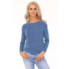 Habriban Blue 2010 sweater