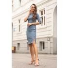 Aeroma Blue Dress 85200