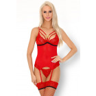 Parmin LC 90445 Salssa Red Collection-korset