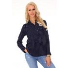 Herenui Dark Blue 85295 blouse