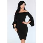 Sukienka Yolandena Black FZ1734
