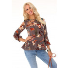 Aridanna Brown 85329 blouse