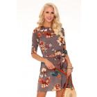 Kleid Idele Brown 85328