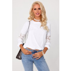 Nanama White 85290 blouse