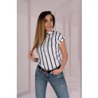 Ouranila White 85411 blouse