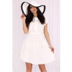 Medesia White 85515 dress