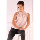 Amargo Pink Gray blouse