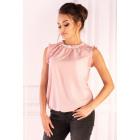 Amargo Pink White blouse