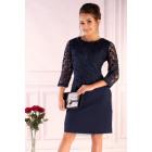 Hantari Navy Blue Kleid