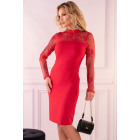 Robe Astrai Rouge 85602