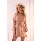 Manetera Camel Dress