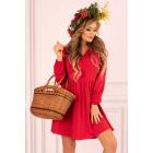 Mayonati Red D37 dress