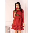 Madelana Brick Red dress