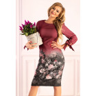 Mitral Plum D49 dress