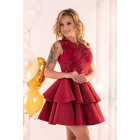 Dress Karieela Wine Red 90543
