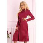Dress Hamien Wine Red 85603