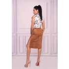 Lunarin Camel 90532 skirt