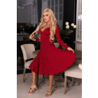 Robe Frojene Wine Red FZ1755 taille - S / L