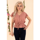Etiar Dusty Rose B15 Bluse