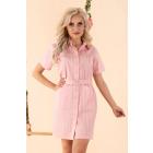 Linesc Pink D88 dress