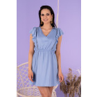 Lauream Blue Dress D141