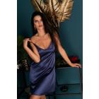 Nightdress Mirdama Navy Blue LC 90519 Est Bell