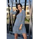 Provena Blue Dress D104