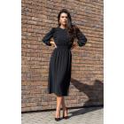 Bouquetina Black Dress D8