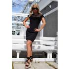 Scelin Black Dress 1310