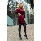 Milona Maroon Dress 0112