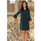 190-7 MARGARET dress with lace on the sleeves